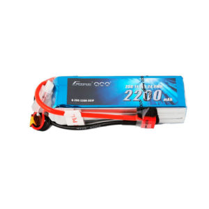 Gens Ace 2200mAh 25C 3S1P Lipo Battery- Manolos Hobbies