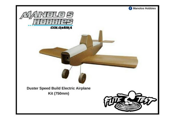 Flite Test Duster Speed Build-Manolos Hobbies