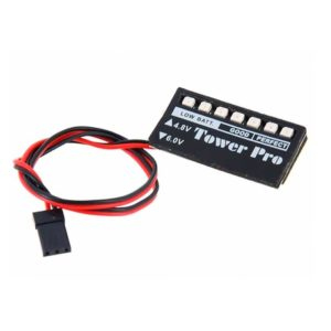 LED Receiver Voltage Monitor- Manolos Hobbies
