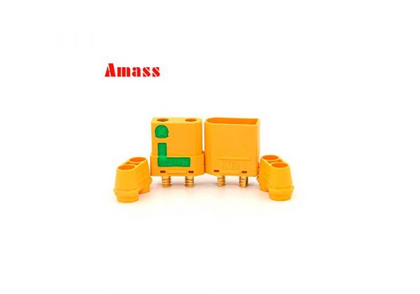 Connector XT90s AMASS Anti-Spark - Manolos Hobbies